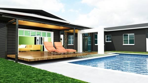 Image View overlooking Pool ...