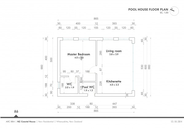 Image 06-Pool house floor plan