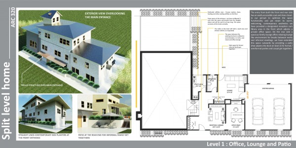 Image Split-Level Home
