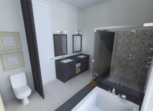 Image Master Bath Remodel