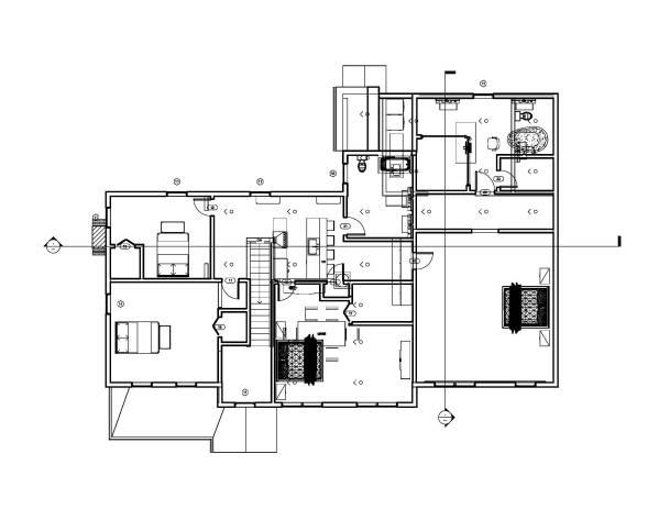 entire floor designed by coggins home addition 1070