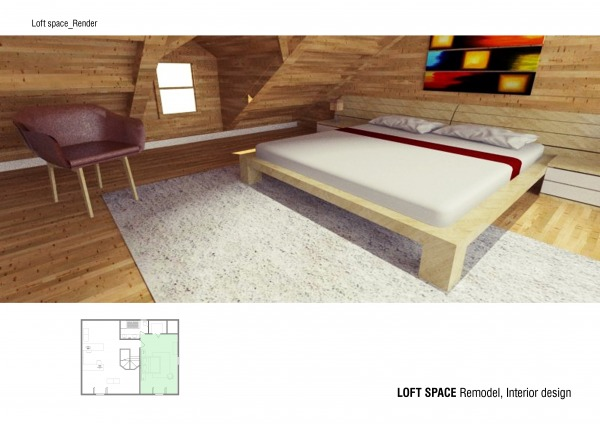 Image Remodel log home loft ... (2)