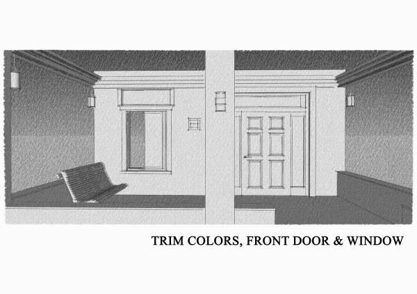 Image Trim colors, front doo...