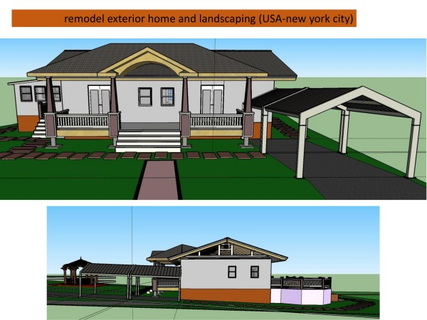 Image Remodel exterior home ... (2)