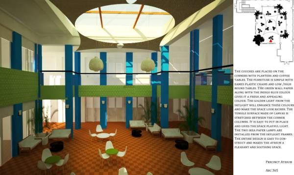 Image Precinct Atrium