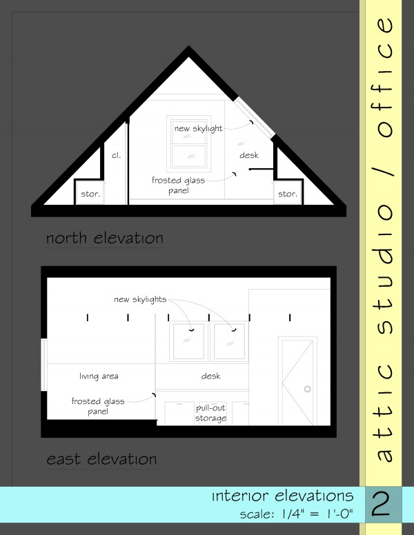 Attic Designed By Anonymous Converting Attic Into Office