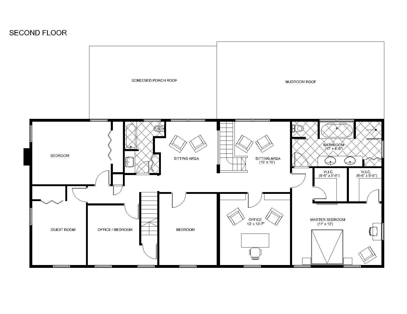 House addition plans master bedroom suite addition floor Addition to house plans