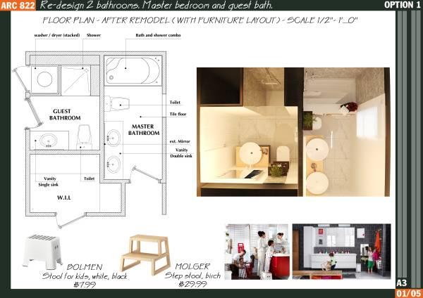 Image Re-design 2 bathrooms.... (2)