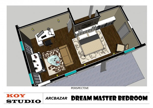 Image Dream Master Bed