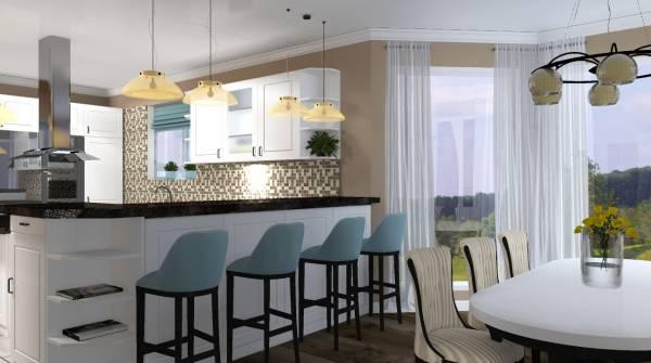 Image Kitchen, Dining, Livin...