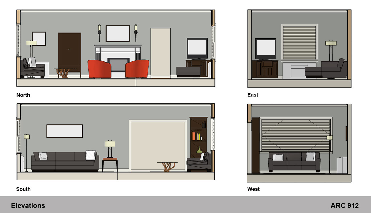 Image01 for Living room elevation
