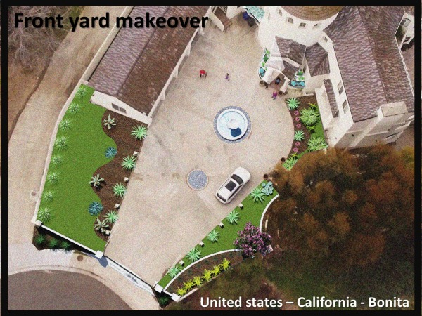 Image Front yard makeover