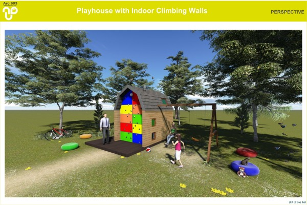 Image Playhouse w Climbing W... (2)