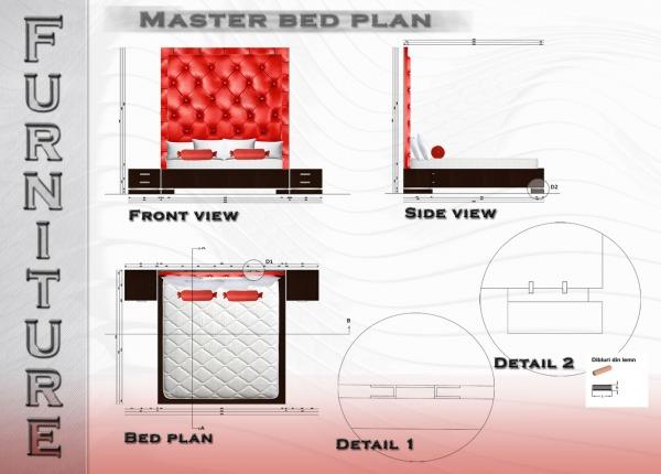 Image Master Bed Design