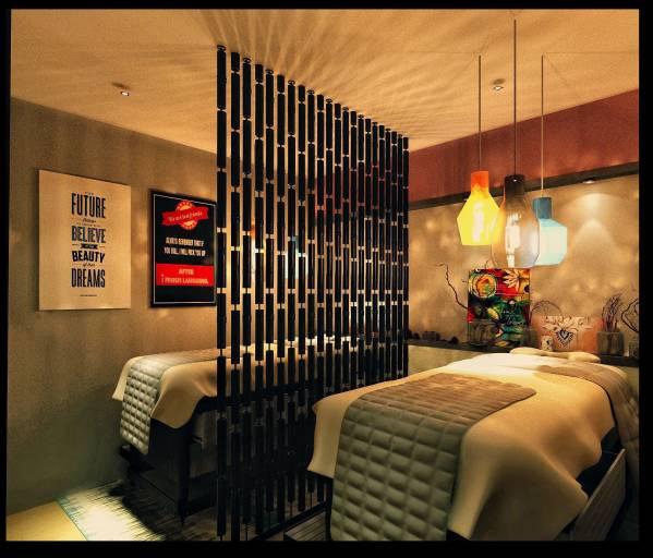 High End Nail Salon: Store Designed By NOHA LABIB DESIGN