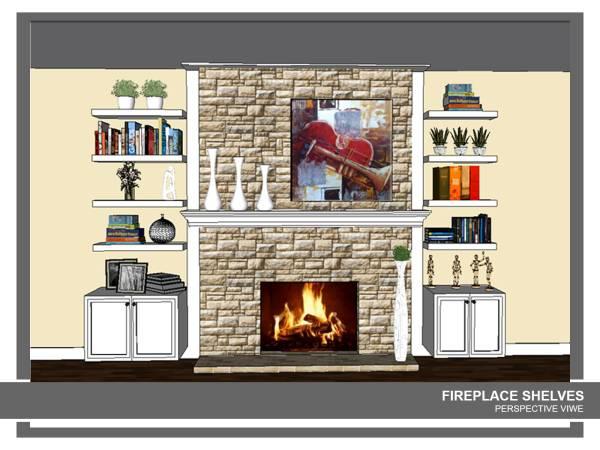 Image Custom shelves bracket...