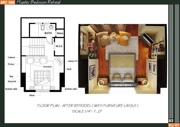 Image Master Bedroom Retreat (1)