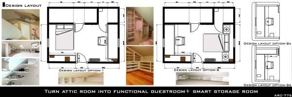Image Turn attic room into f... (2)