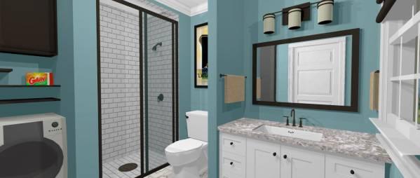 Image Downstairs Bathroom