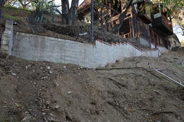 Image Back retaining wall