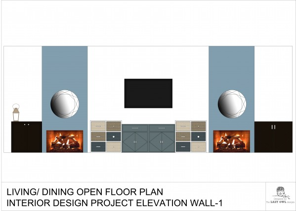 Image ELEVATION - WALL 1