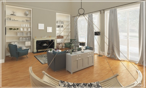 Image Formal Living Room Bec...