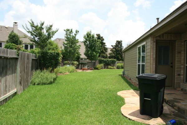Image View of side yard and ...