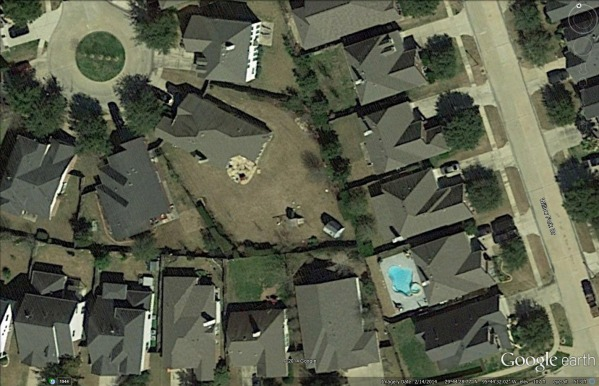 Image Google Earth view of t...