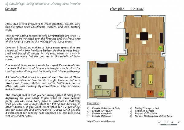 Image Concept and Floor plan