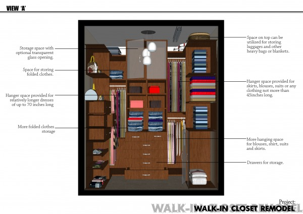 Image Tiny walk-in closet