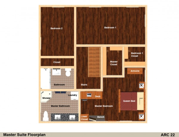 Image Rendered Floorplan