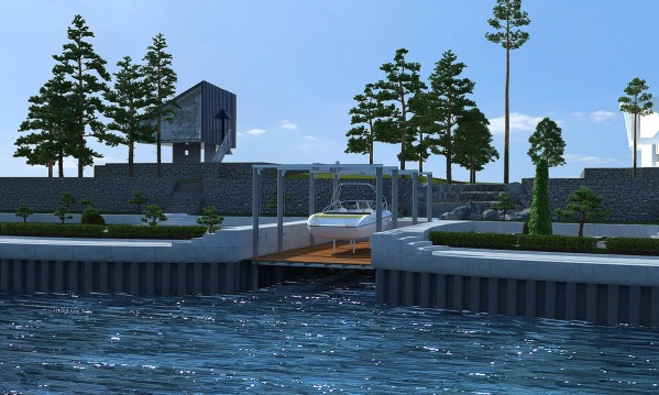 Image Landscape with coast p...
