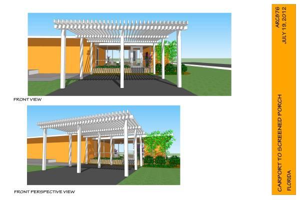 Image Convert carport to porch! (1)