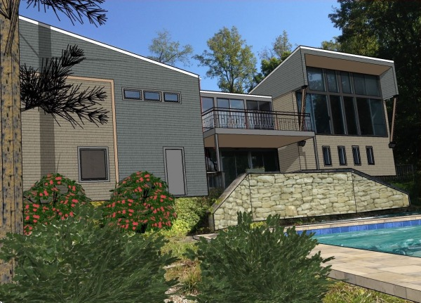 Image A modern oasis in the ...