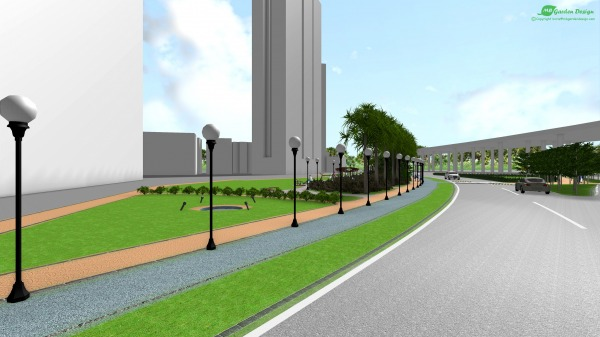 Image The City Corner Green ... (2)