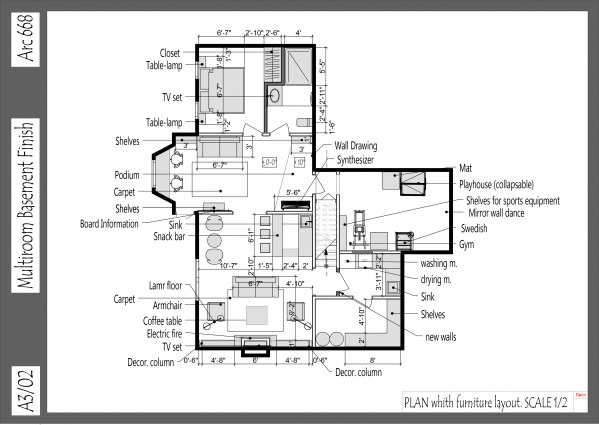 Image Multiroom Basement Finish (2)