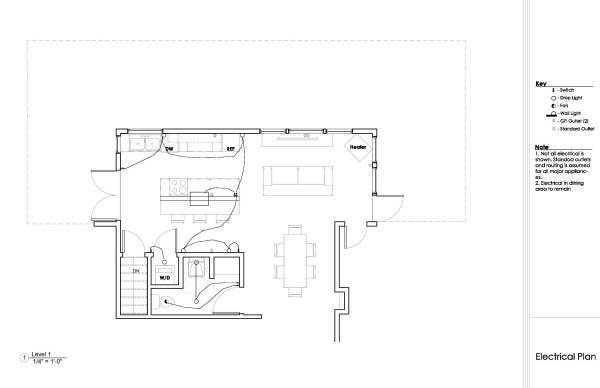 Image Kitchen-Dining-Living ...