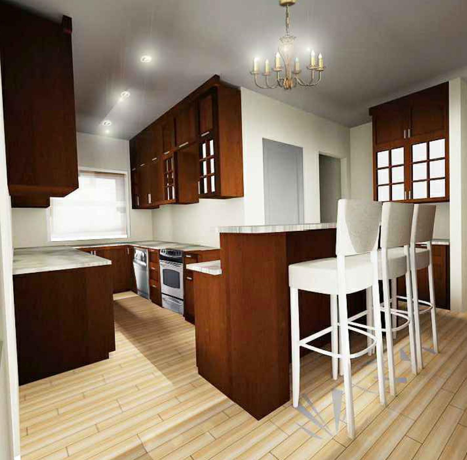 Viewdesignerproject projectkitchen design for Kitchen design normal