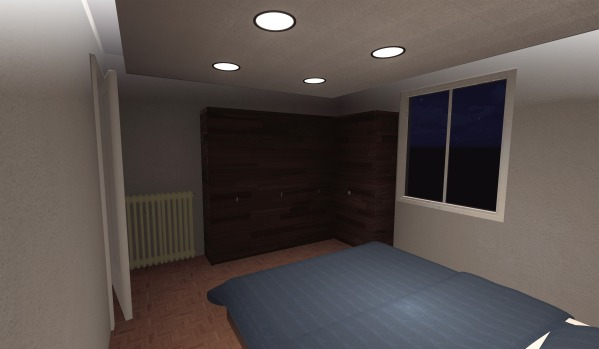 Image 3D View of room.