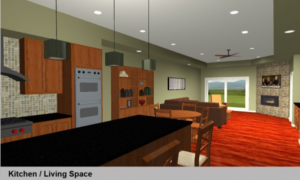 Rendering Kitchen 1