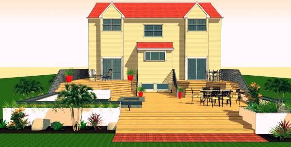 Image Decks, stairs, patio, ...