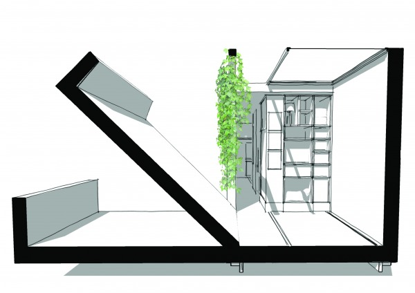 Other designed by sandra hany dynamic tiny house us for Dynamic house