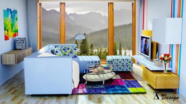 Image Living room - Scandina...