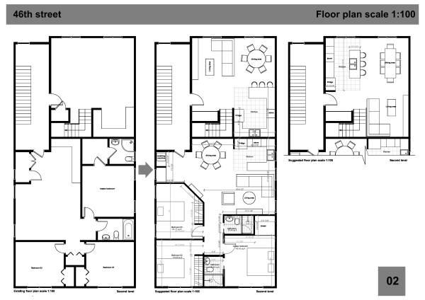 Image second level floor pla...
