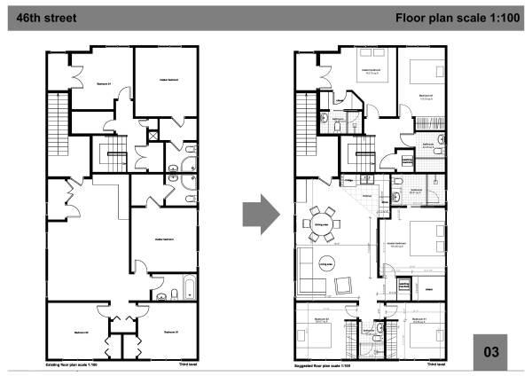 Image third level floor plan...