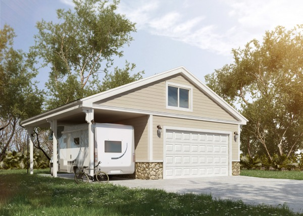 Image New Detached Garage & ...