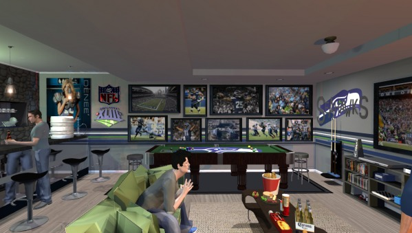 Man Cave Vote : Vote for buffalo s best man cave poll