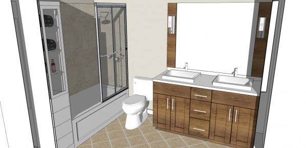 Image En-suite bath with sto...
