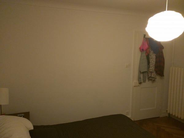 Image Back wall. The door op...