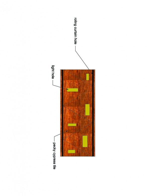 Image tray ceiling plan